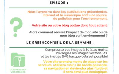 Rendre son site ou son blog plus écologique – Episode 1
