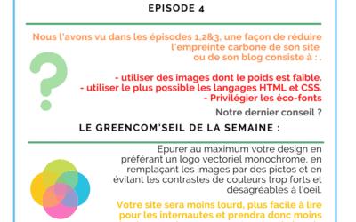 Rendre son site ou son blog plus écologique – Episode 4